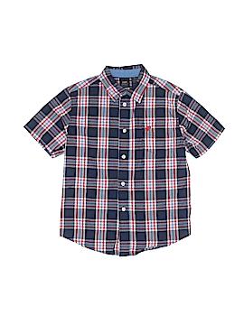 Wrangler Jeans Co Short Sleeve Button-Down Shirt Size 6