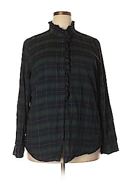 Gap Long Sleeve Button-Down Shirt Size XXL