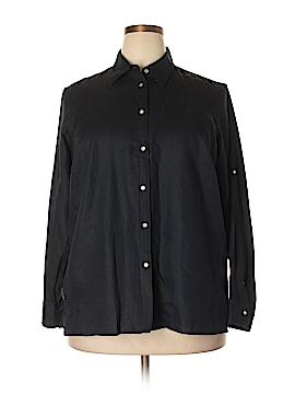 Ralph by Ralph Lauren Long Sleeve Button-Down Shirt Size 1X (Plus)
