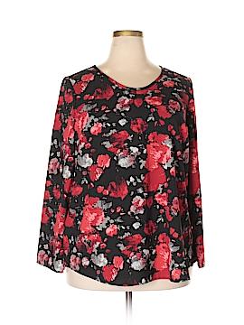 D&Co. Long Sleeve Blouse Size 1X (Plus)