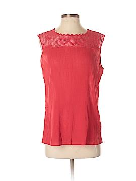 Chaps Short Sleeve Blouse Size S