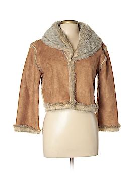 Cejon Faux Leather Jacket Size L