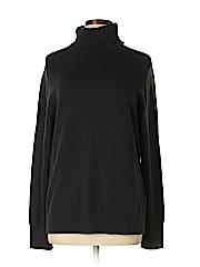 Lands' End Women Turtleneck Sweater Size L