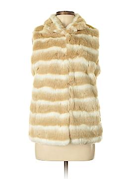 Gianni Bini Faux Fur Vest Size M
