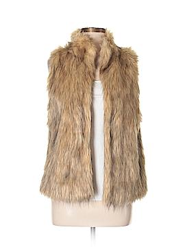 Kenar Faux Fur Vest Size M