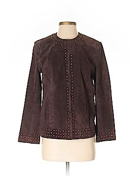 Laura Ashley Leather Jacket Size S