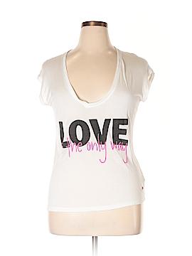 Peace Love World Short Sleeve T-Shirt Size S