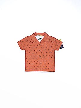 Mick Mack Ltd Short Sleeve Button-Down Shirt Size 24 mo