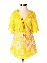 Juicy Couture Women Short Sleeve Blouse Size 0