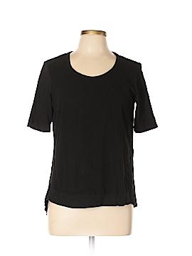 Left of Center Short Sleeve Top Size L