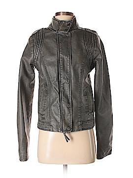 Aeropostale Faux Leather Jacket Size M