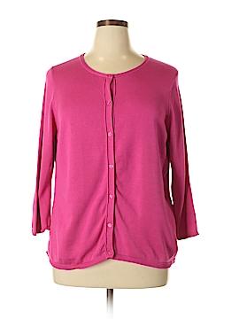 Coldwater Creek Silk Cardigan Size 1X (Plus)