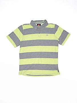 Quiksilver Short Sleeve Polo Size 14
