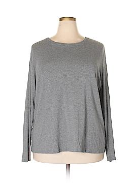 Merona Long Sleeve T-Shirt Size 3X (Plus)