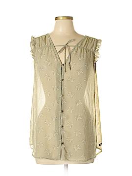 Matilda Jane Sleeveless Blouse Size L