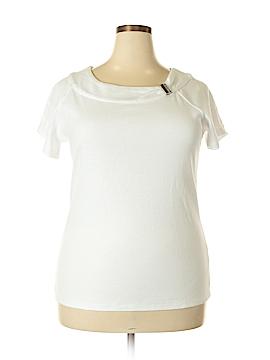 Rafaella Short Sleeve Top Size 1X (Plus)