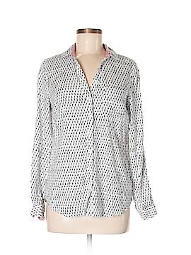 Dalia Long Sleeve Button-Down Shirt Size M