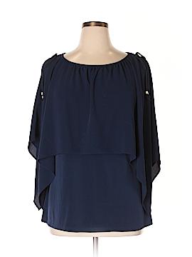 MICHAEL Michael Kors 3/4 Sleeve Blouse Size 1X (Plus)