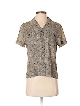 Emanuel Ungaro Liberte Short Sleeve Blouse Size 4