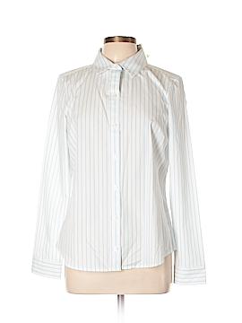 Nautica Long Sleeve Button-Down Shirt Size L