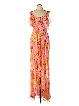 Badgley Mischka Silk Dress Size 6