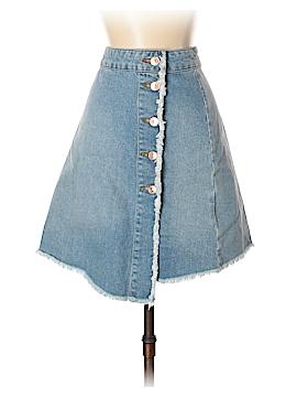 Zara Basic Denim Skirt Size 5