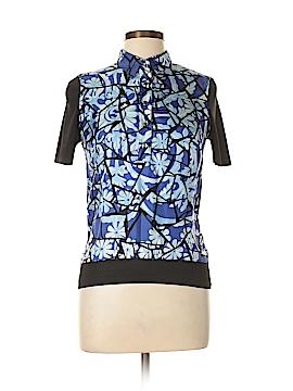 Gucci Short Sleeve Silk Top Size L