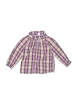 H&M Long Sleeve Button-Down Shirt Size 2T