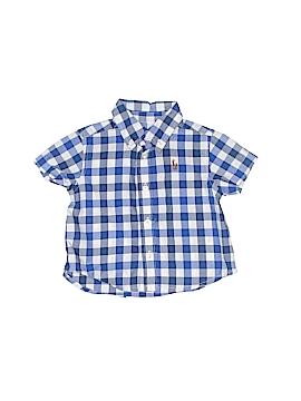Ralph by Ralph Lauren Short Sleeve Button-Down Shirt Size 3 mo