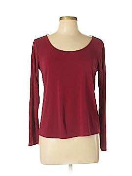 Eileen Fisher Long Sleeve Silk Top Size M