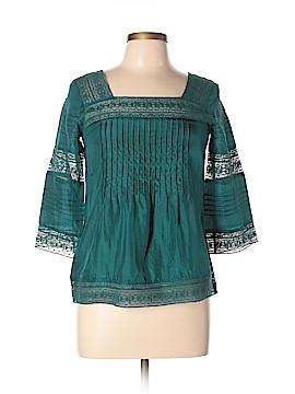 Sundance 3/4 Sleeve Silk Top Size S (Petite)