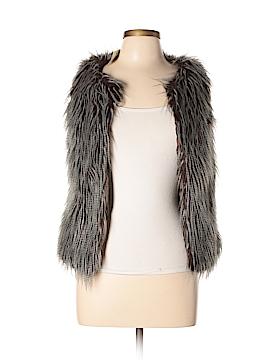 Max Studio Faux Fur Vest Size XS