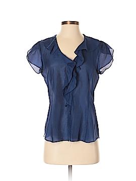 Banana Republic Factory Store Short Sleeve Silk Top Size S