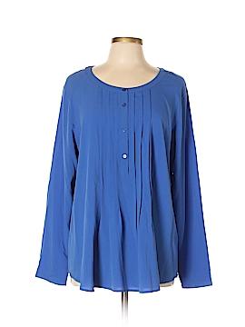 Ann Taylor LOFT Outlet Long Sleeve Blouse Size XL