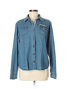 C.E. Schmidt Workwear Long Sleeve Button-Down Shirt Size L