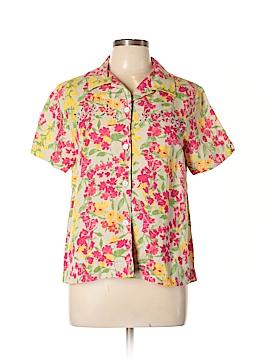 Field Manor Short Sleeve Button-Down Shirt Size M
