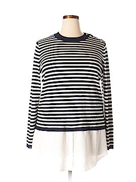 Lauren by Ralph Lauren Wool Pullover Sweater Size 2X (Plus)