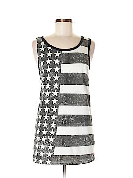 Rock & Republic Sleeveless T-Shirt Size L