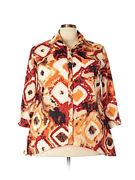 Ashley Stewart 3/4 Sleeve Blouse Size 18 - 20 (Plus)