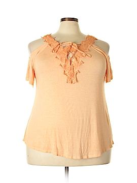 Jessica Simpson Short Sleeve Top Size 1X (Plus)