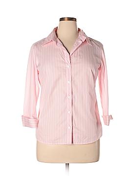 Jaeger Long Sleeve Button-Down Shirt Size 14