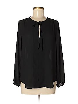 Joan Vass Long Sleeve Blouse Size XS
