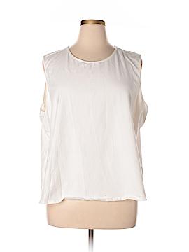 D&Co. Sleeveless T-Shirt Size 3X (Plus)