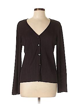 Dana Buchman Silk Cardigan Size L
