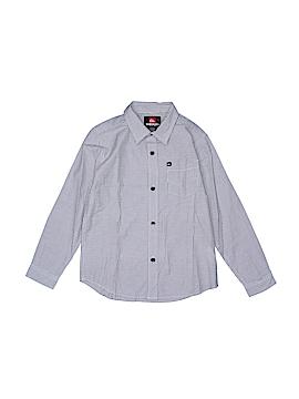 Quiksilver Long Sleeve Button-Down Shirt Size 7