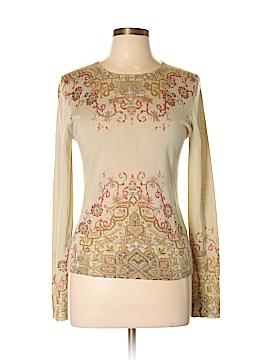 ETRO Silk Pullover Sweater Size M