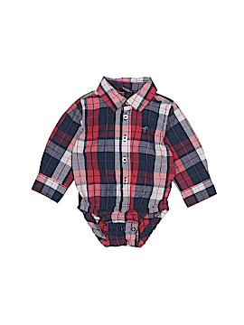 Wrangler Jeans Co Long Sleeve Onesie Size 6-9 mo