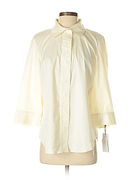 Worth New York 3/4 Sleeve Button-Down Shirt Size M