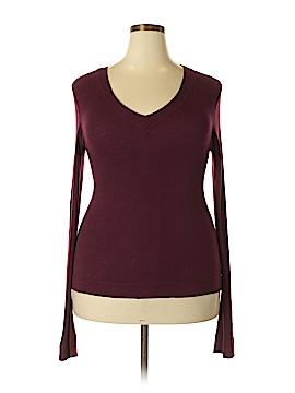 Bordeaux Pullover Sweater Size XL