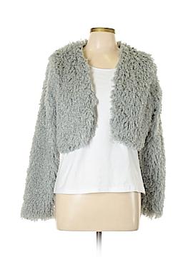VERTIGO Faux Fur Jacket Size L